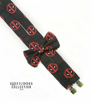 Deadpool Suspenders By SweetLooks Collection
