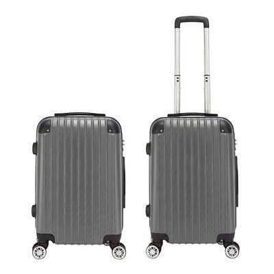 20 inch Waterproof Spinner Luggage Travel Business Suitcase Bag Rolling Wheels