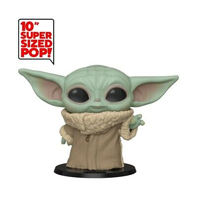 Star Wars:The Mandalorian Baby Yoda 10-Inch Funko Pop (Pre-Order) May 2020