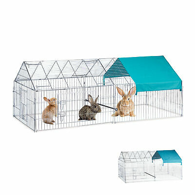 Free Range Pen Rabbits Chickens Outdoor Enclosure Chicken Coop 220 cm