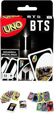 Kpop BTS UNO Theme Card Band Fan Deck Party Games Gift Bangtan Boys