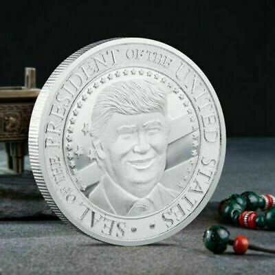 2020 President Donald Trump Inaugural Commemorative Novelty Coin silver Plated