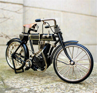 Exquisite 3D DIY Retro Bicycle Assembled Locomotive Model Bike Cycling Model Toy