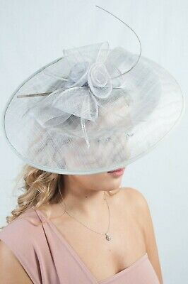 Oversize Sinamay Hatinator Ladies Fascinator Fascinators Wedding Guest Races