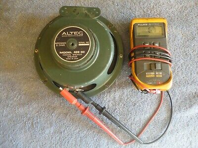 Altec 409-8C Coaxial Driver Speaker Tested Working