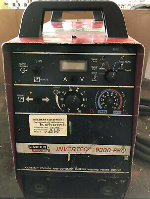 Lincoln Electric INVERTEC V300-PRO Welder Machine 380-460V 3Phase & 220V 1 Phase