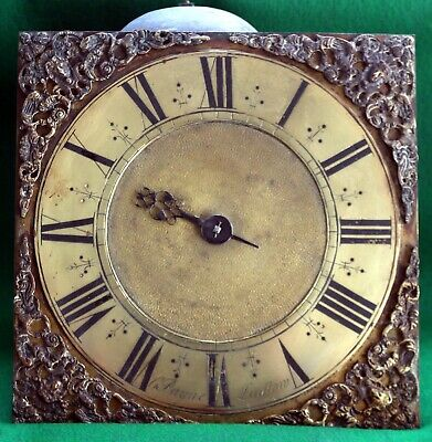 Two Antique Grandfather Clocks Movements