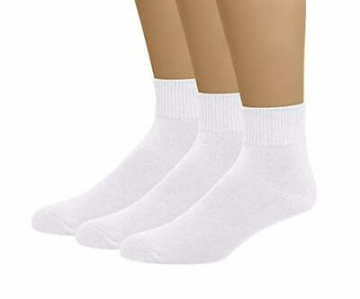 Classic Men's Diabetic Non-Binding Ankle Socks 3-Pack (Big and Tall Available)