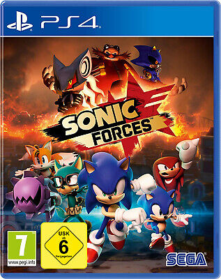 PS4 Sonic Forces NEU&OVP Playstation 4