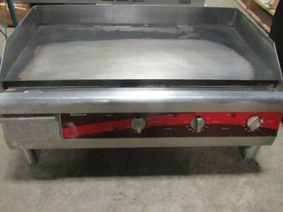 "30"" Avantco Electric Commercial Countertop Steel Flat Top Griddle Grill"