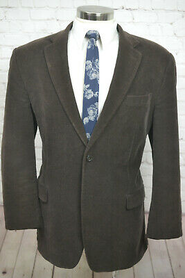 Michael Kors Mens Brown COTTON CORDUROY Classic Sport Coat Blazer Jacket 44L