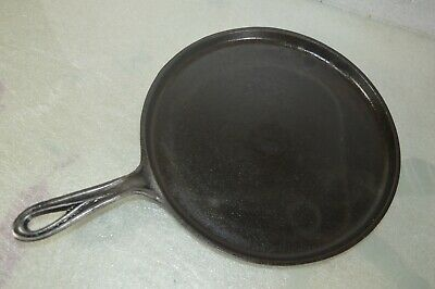 Antique Marked 8WL Cast Iron Skillet Fry Pan With Gate Mark 1800s