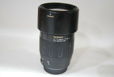 Tamron 75-300mm f/4-5.6 LD telemacro lens for Canon