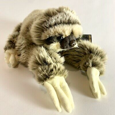 """National Geographic """"Lelly"""" Sloth Soft Cuddly Plush New Kids Stuffed Animal Toy"""