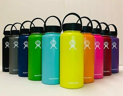 Hydro Flask Water Bottle Stainless Steel Vacuum Insulated with Flex Cap-#32OZ
