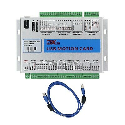 USB 2MHz Mach4 CNC 4 Axis Motion Control Card Breakout Board for Machine tpsUS