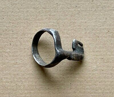 A Roman Silver Key Ring (1st-3rd century AD). A rare ancient artifact!