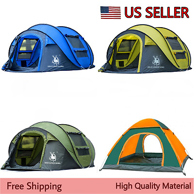 Large ultralight Camping Tent Waterproof Outdoor Automatic Dome Tent For Hiking
