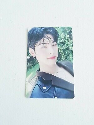 "K-POP ASTRO Mini Album ""BLUE FLAME"" Official Cha Eunwoo Photocard"