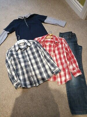 Age 6-7 Boys Bundle. Jeans Shorts D&G, Marks And Spencers, Debenhams