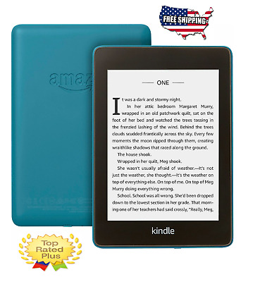 🔴Kindle Paperwhite e-Reader - Twilight Blue, 8GB, Waterproof, Wi-Fi, Glare Free