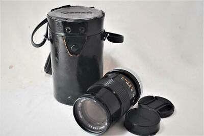 [EXCELLENT++++] Canon FD 135mm F/3.5 S.C. Lens w/Case with Strap,Filter,Caps