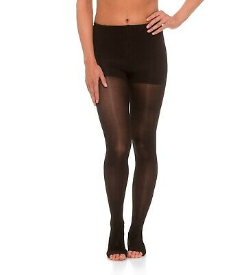 Jomi Compression Pantyhose Women's Collection, 20-30mmHg Sheer Open Toe 245