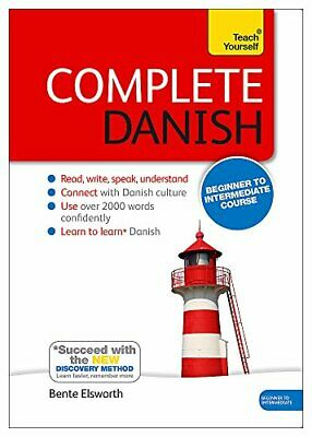 Complete Danish Beginner to Intermediate Course Book and audio support Teach