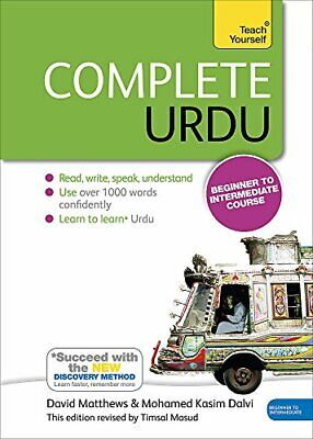 Complete Urdu Beginner to Intermediate Course Book and audio support Teach Y