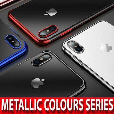Case for iPhone 8 7 6 6s Plus XR XS MAX ShockProof Soft TPU Silicone Phone Cover