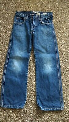 Boys/Girls 134cm Age 9years H&M Straight Leg Jeans