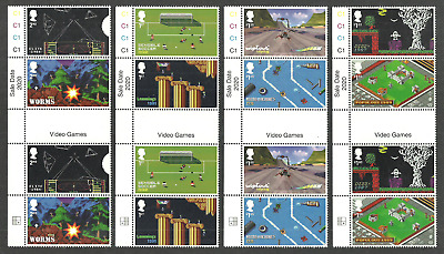 Gb 2020 Video Games Lemmings Worms Wipeout Lemmings Animation Gutter Pairs Mnh