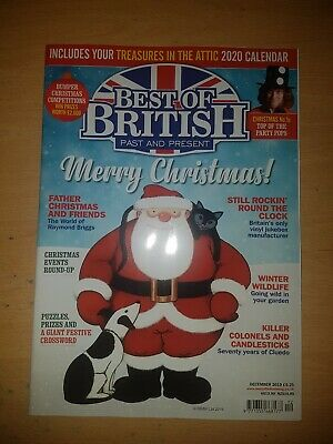 Best of British Magazine, December 2019. Free uk postage.