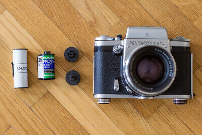 Adapter 135 to 120 - Convert a 35mm film to 120 type (Medium Format)