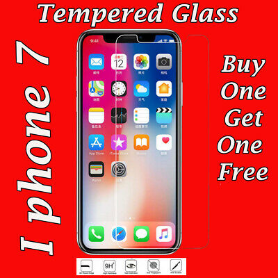 Tempered Glass Screen Protector For Apple iPhone 7&7Plus-Genuine 9H&oleophobic