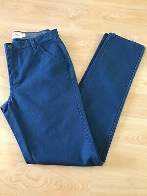 NEW Johnnie b Trousers Age 15 L32 W30 Navy Blue Never Worn Excellent Condition