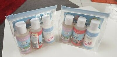 2 x Child's Farm Top To Toesie Cleaning Kit 100ml each bottle