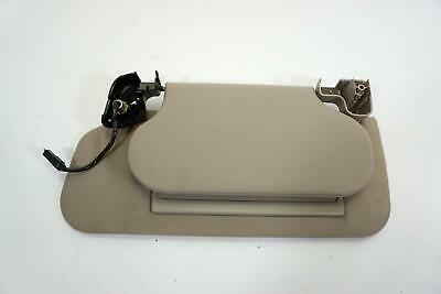 00-02 Lincoln LS Driver Side Sun Visor with Double Panel and Lighted Mirror