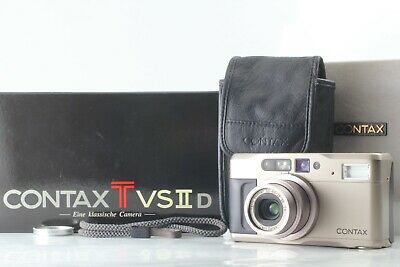 【TOP MINT in Box】   Contax TVS II D Point & Shoot  Carl Zeiss from Japan #165