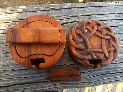 Viking Box Hand Carved Wood Box / Vikings / Viking Art Design