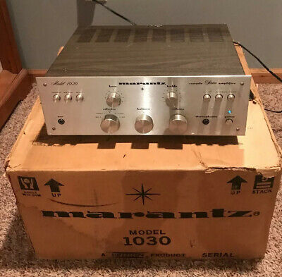 Vintage Marantz Model 1030 Stereo Integrated amplifier - Excellent +++ With Box