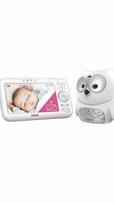"""Vtech BM5100-OWL 5"""" LCD Video/Audio Monitor Mountable Night Safety Baby Camera"""