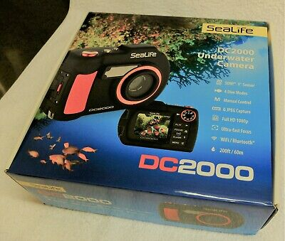 Sealife Underwater Camera with Light and Wide angle Lens - Excellent, Near New