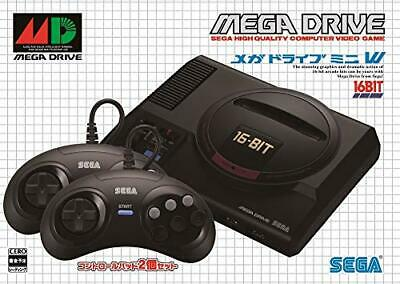 SEGA Mega Drive Mini W With two controllers  Japan import NEW F/S