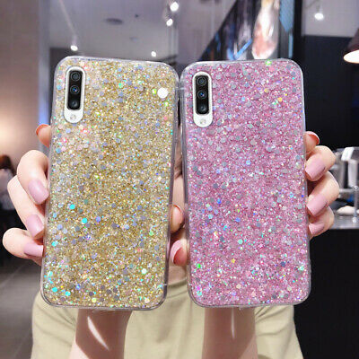 Bling Glitter Case For Huawei P30 P20 Lite Mate 30 Pro Nova 5T 6 Silicone Cover