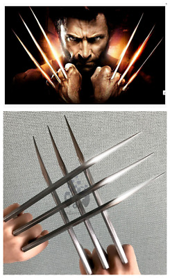 1 Pair X-Men Logan Wolverine Claws Cosplay X-Men Props Accessories ABS Claws