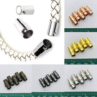 10pcs Magnetic Clasps Buckle Connector For Bracelet DIY Jewelry Making Craft