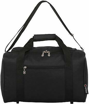 5 Cities New 2020 Ryanair 40x20x25 Max Size Cabin Carry on Holdall Bag Black