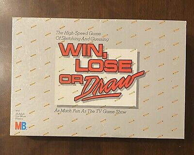 VINTAGE CLASSIC-Win Lose or Draw 1987 Game New SEALED NEVER OPENED