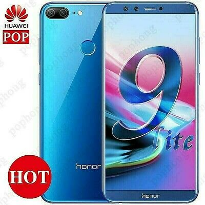 """Huawei Honor 9 Lite 5.65"""" 4GB 32GB 4 Cameras Android 8 Smartphone Unlocked 4G"""